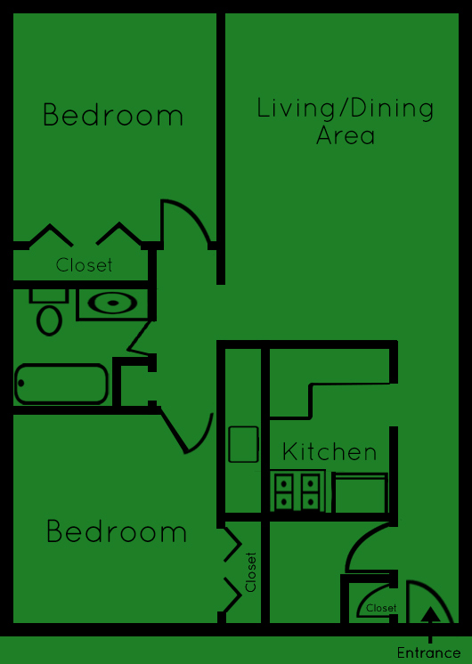 2 Bedroom Apartments For Rent 2 Bedroom Apartment In